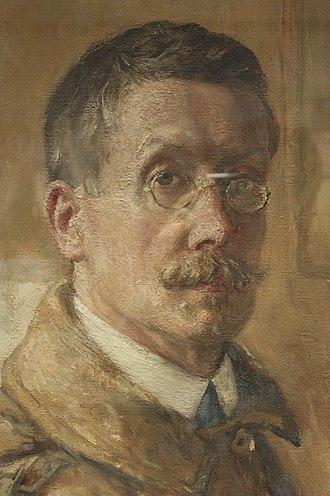 Alexander Ignatius Roche - Alexander Ignatius Roche, self-portrait c.1910