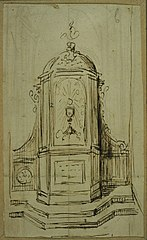 Design for a tabernacle with wings