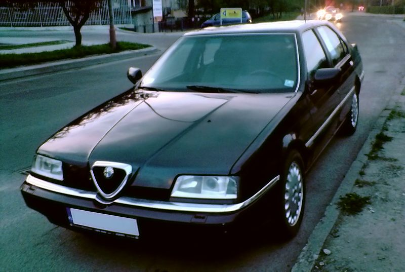 File:Alfa 164 front jaslo.jpg - Wikipedia, the free encyclopedia