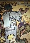 Alfons mucha, l'epoca romana e l'arrivo degli slavi, dipinto per padiglione bosnia-h. all'esp. univ. di parigi del 1900, 06.jpg