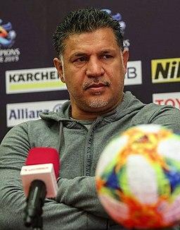 Ali Daei, Saipa vs. Al-Rayyan pre-match conference