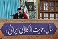 Ali Khamenei in Imam Reza Shrine.jpg