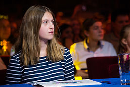 Alina Kukushkina at Russian selection for JESC 2015.jpg