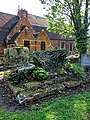 All Hallows Church Tottenham London England - churchyard chest tomb overgrown 11.jpg