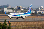 All Nippon Airways, B737-800, JA83AN (24041598302).jpg