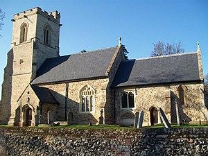 Willian, Hertfordshire - Image: All Saints, Willian