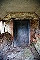 All Saints Church, Berners Roding, Essex nave south door.jpg