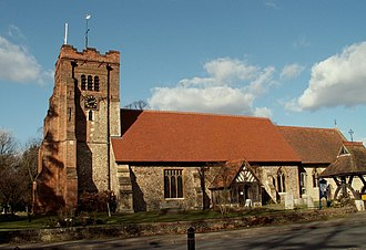 Springfield, Essex - Image: All Saints church, Springfield, Essex geograph.org.uk 132617