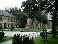 All Saints church in Włocławek - Statue of Christ blessing - 01.jpg