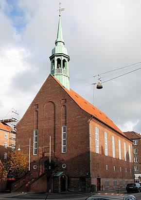 How to get to Allehelgens Kirke with public transit - About the place