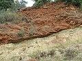 Alluvial deposits overlaying schist - panoramio.jpg