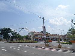 Vị trí của Huyện Alor Gajah