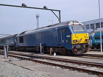 Transport for Wales Rail Services - Image: Alstom General Motors Class 67 No 67003 (7786994576)