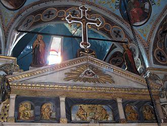 Kranidi - Inside the church of Agios Prodromos.