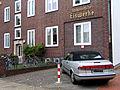 Alte Döhrener Straße 78, Hannover, Schriftzug Hannoversche Eiswerke an der Ziegelsteinfassade.jpg