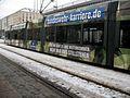 Altmarkt Dresden DVB Bahn Tarnbemalung Bundeswehr 1.jpg