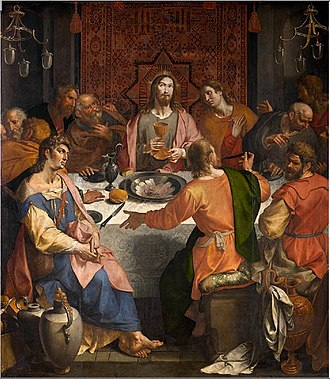 Ambrosius Francken I - The Last Supper