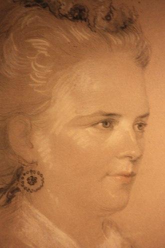 Amelia Robertson Hill - Amelia Robertson Hill by Alexander Blaikley 1853, SNPG