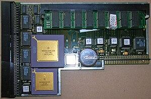 Amiga 1200 - A Blizzard 1230 Mk III accelerator board