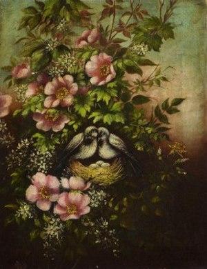 Dusky seaside sparrow - Illustration by Martin Johnson Heade