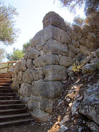 Amos (ancient city) - Hellenistic tower of ancient Amos.