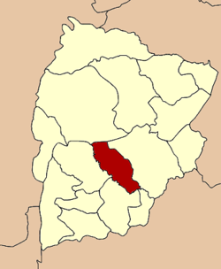 Amphoe location in Chaiyaphum Province