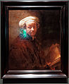 Amsterdam - Rijksmuseum - Late Rembrandt Exposition 2015 - Self Portrait as Apostle St Paul 1661.jpg