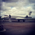 An Ashanti's Private Jet at Kumasi Airport.png