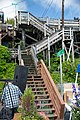 An example of the stairways which take the place of streets in Ketchikan, Alaska.jpg