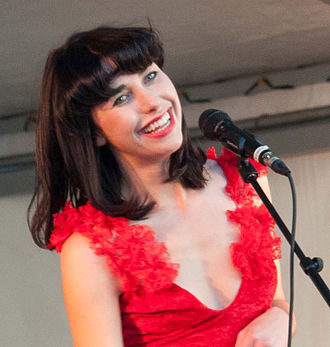 Kimbra - Kimbra performing in Auckland, 2012