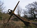 Anchor along roadside - geograph.org.uk - 1133365.jpg
