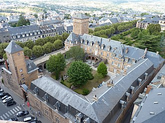 Roman Catholic Diocese of Rodez - Episcopal Palace at Rodez (North wing: 1684–1694)