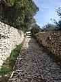 Ancienne voie pavée proche du couvent Saint Julien.jpg
