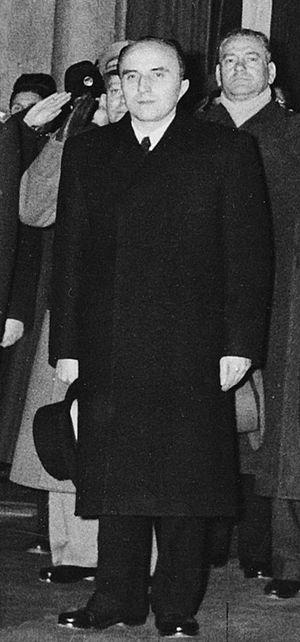 András Hegedüs - András Hegedüs in 1956