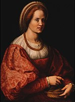 Andrea del Sarto - Portrait of a Woman with a Basket of Spindles - WGA0377.jpg