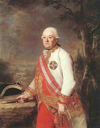 András Hadik - Andreas Hadik (by Georg Weikert, 1783)