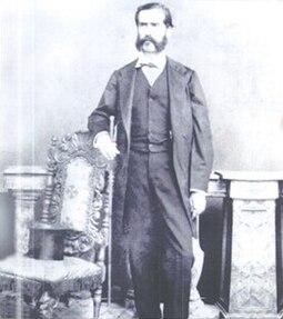 Andrés del Valle President of El Salvador