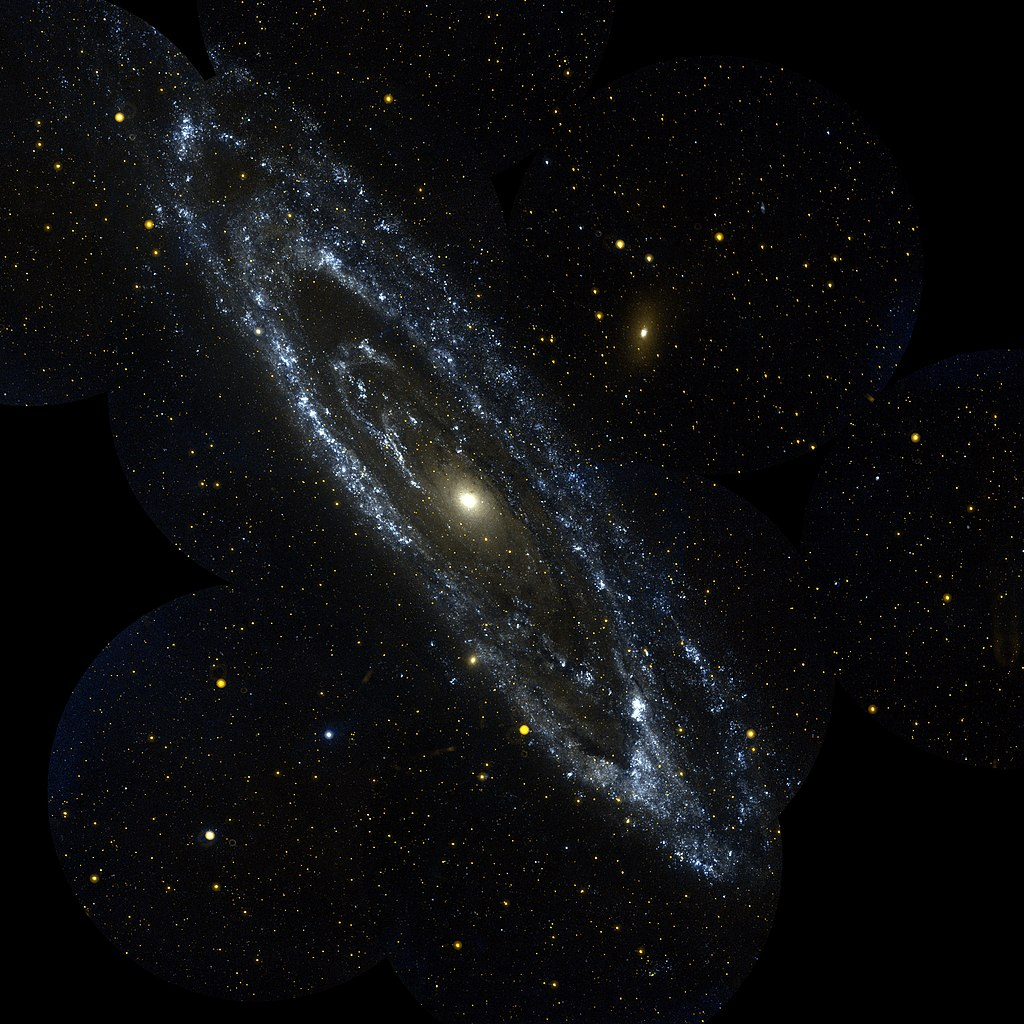 andromeda galaxy distance from - photo #38