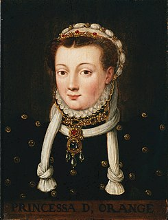 Anna van Egmont first wife of William the Silent