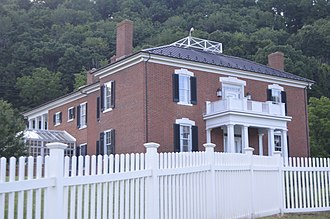 National Register of Historic Places listings in Botetourt County, Virginia - Image: Annandale closeup