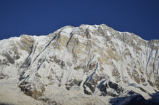 1970 British Annapurna South Face expedition First ascent of Himalayan mountain face using rock climbing techniques