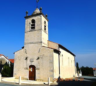 Annezay - The Church of Saint Peter