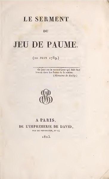 File:Anonyme – Le Serment du jeu de paume, 1823.pdf