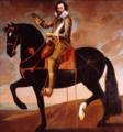 Anselm van Hulle (Attr.) - Equestrian portrait of Philip William, Prince of Orange.PNG