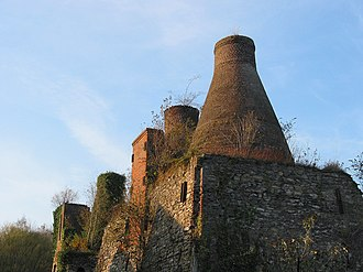 Lime kiln - Old lime kilns, Antoing, Belgium