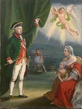 Joseph II. als Kultobjekt der Liberalen, 1828–1835 (Antonín Machek). (Quelle: Wikimedia)
