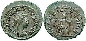 Quietus - Image: Antoninianus Quietus RIC 0009