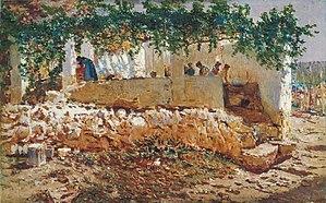 Antonio Muñoz Degrain - Image: Antonio Muñoz Degrain Washerwomen