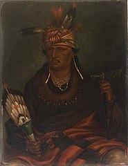 Chetan-woa-kutoa-mang (The Hawk Who Hunts Walking)