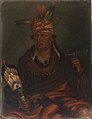 Antonion Zeno Shindler - Chetan-woa-kutoa-mang (The Hawk Who Hunts Walking) - 1985.66.295,541 - Smithsonian American Art Museum.jpg